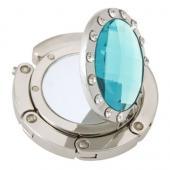 Mirror Aqua Crystal Hook