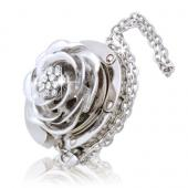 Silver Rose Hook