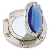 Mirror Blue Crystal Hanger