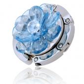 Button Blue Flower Hook